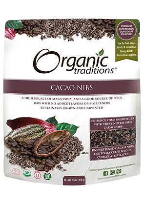 Cacao Nibs- Organic Traditions