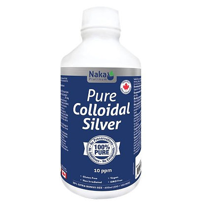 Pure Colloidal Silver- Naka