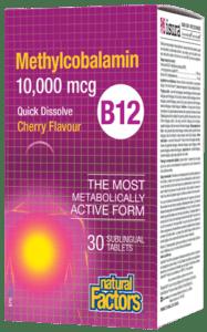 Methylcobalamin (B12)- Natural Factors