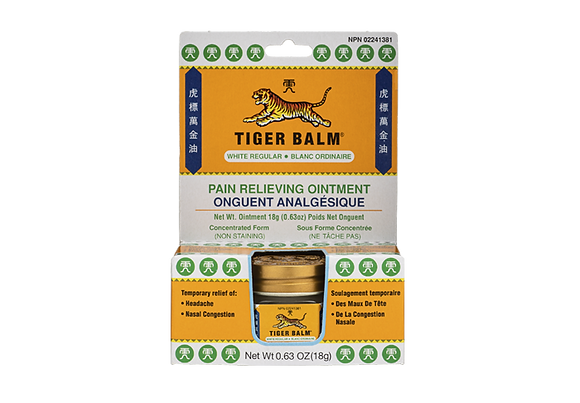 Pain Relieving Ointment (White Regular)- Tiger Balm