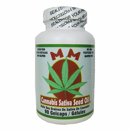 Cannabis Sativa Seed Oil- MM