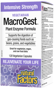 MacroGest Enzyme Formula (Vegetarian)-Natural Factors