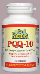 PQQ-10- Natural Factors