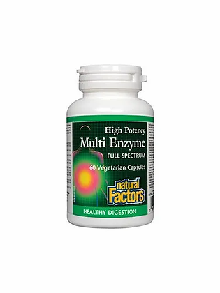 High Potency Multi Enzyme- Natural Factors