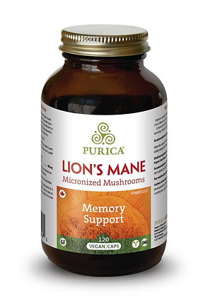 Lions Mane Micronized Mushrooms- Purica