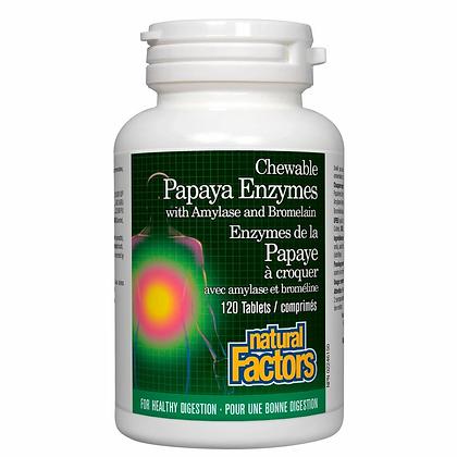 Papaya Enzymes- Natural Factors
