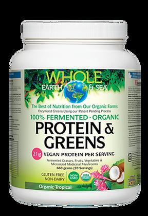 Protein & Greens- Whole Earth & Sea