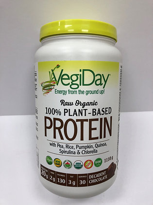 Raw Organic Plant Based Protein- VegiDay