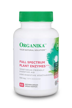 Full Spectrum Plant Enzymes- Organika