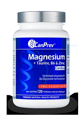 Magnesium w/ Taurine, B6 & Zinc- CanPrev