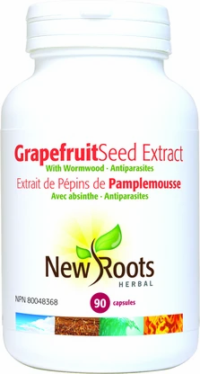 Grapefruit Seed Extract w/ Wormwood- New Roots
