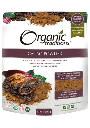 Cacao Powder- Organic Traditions