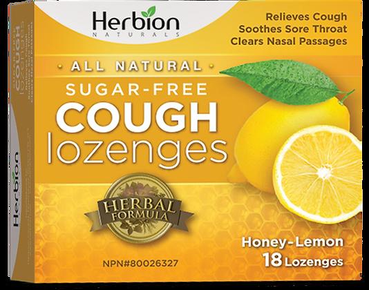 Sugar-Free Cough Lozenges- Herbion Naturals