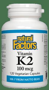 Vitamin K2- Natural Factors