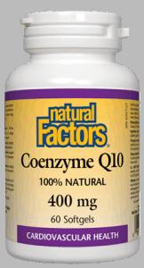 Coenzyme Q10- Natural Factors