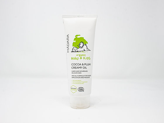 Organic Baby & Kids Cocoa & Plum Creamy Oil - Madara