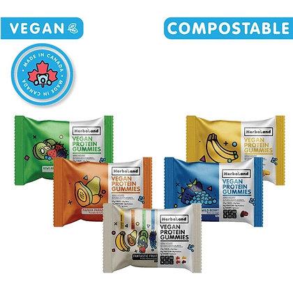 Vegan Protein Gummies- Herbaland
