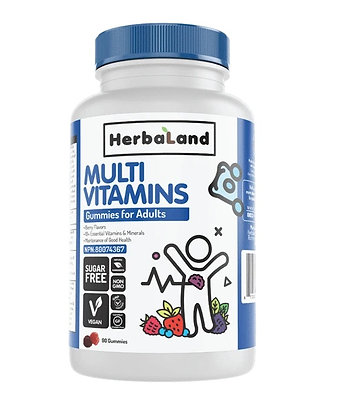 Multi Vitamins Gummies for Adults- Herbaland