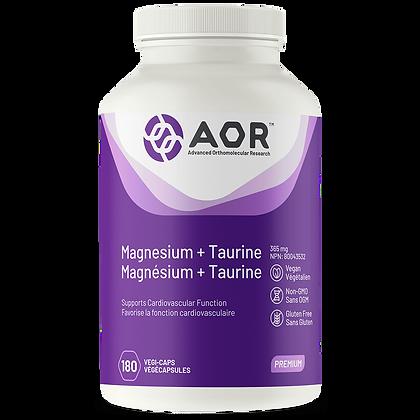 Magnesium + Taurine- AOR