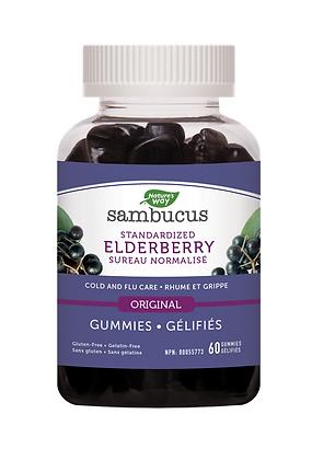 Standardized Elderberry Gummies- Nature's Way