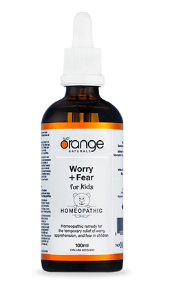 Worry & Fear for Kids- Orange Naturals