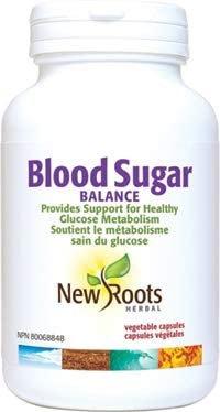 Blood Sugar Balance (60 capsules)- New Roots