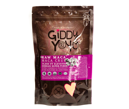 Raw Maca Powder- Giddy Yoyo