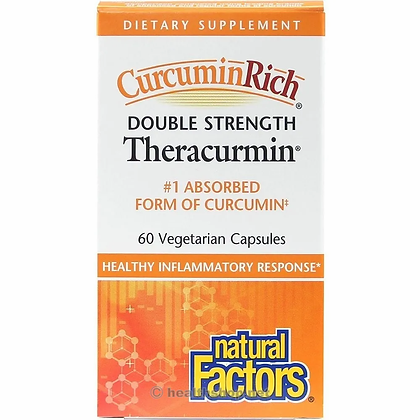 Double Strength Theracurmin- Natural Factors