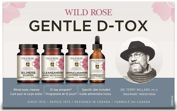 Gentle D-Tox- Wild Rose