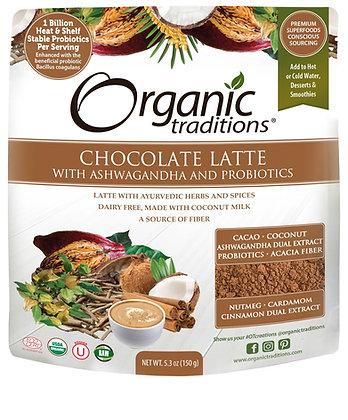 Organic Chocolate Latte with Ashwagandha and Probiotics