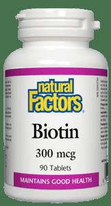 Biotin- Natural Factors