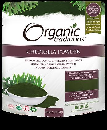 Chlorella Powder-Organic Traditions