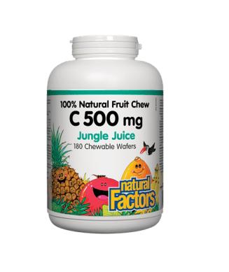 Vitamin C 500mg- Natural Factors