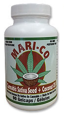 Cannabis Sativa Seed + Coconut Oil- Mari-Co