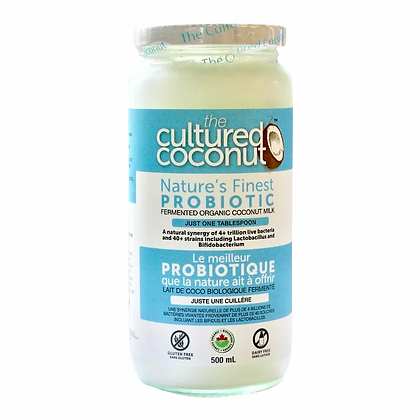 Probiotic Fermented Organic Coconut Milk- The Cultured Coconut