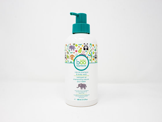 Natural Shampoo & Body Wash - Boo Bamboo
