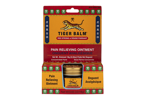 Pain Relieving Ointment (Red Strong)- Tiger Balm