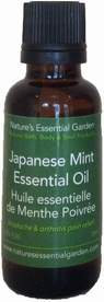 Japanese Mint Essential Oil- Nature's Essential Garden