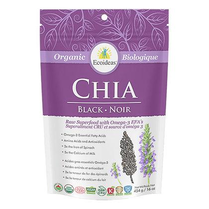 Organic Black Chia- EcoIdeas