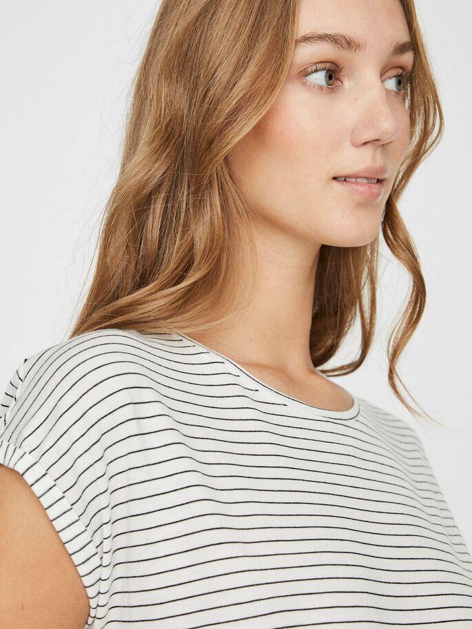 Camiseta blanco listas Vero Moda VMAva p