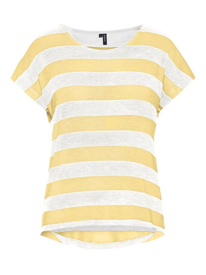 Camiseta manga corta listas VMWide para