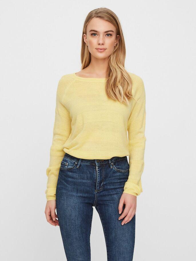 Jersey amarillo franjas relieve VERO MOD