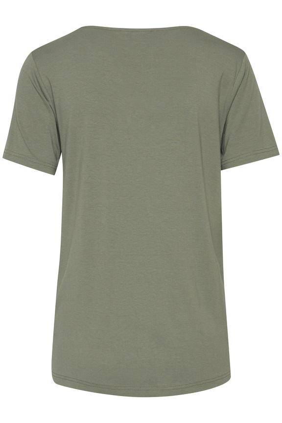 Camiseta verde Byoung 20807919_80353_300