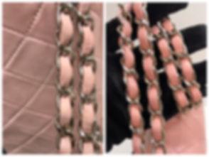 chanel style chain strape