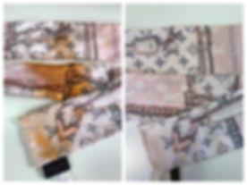 Luxury silk cleaning