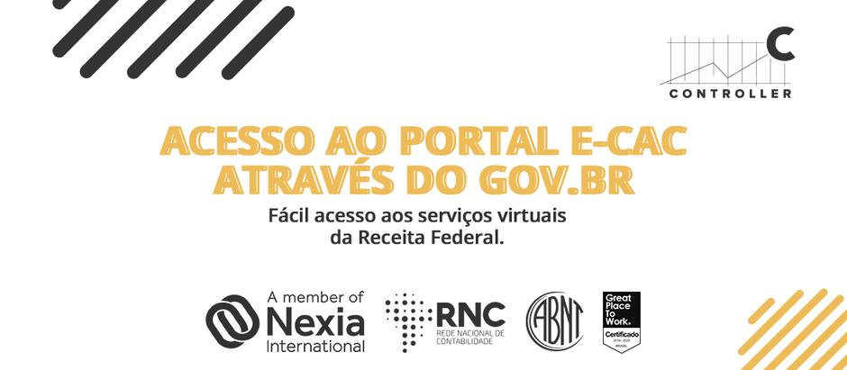 Acesso ao Portal e-CAC através do Gov.br