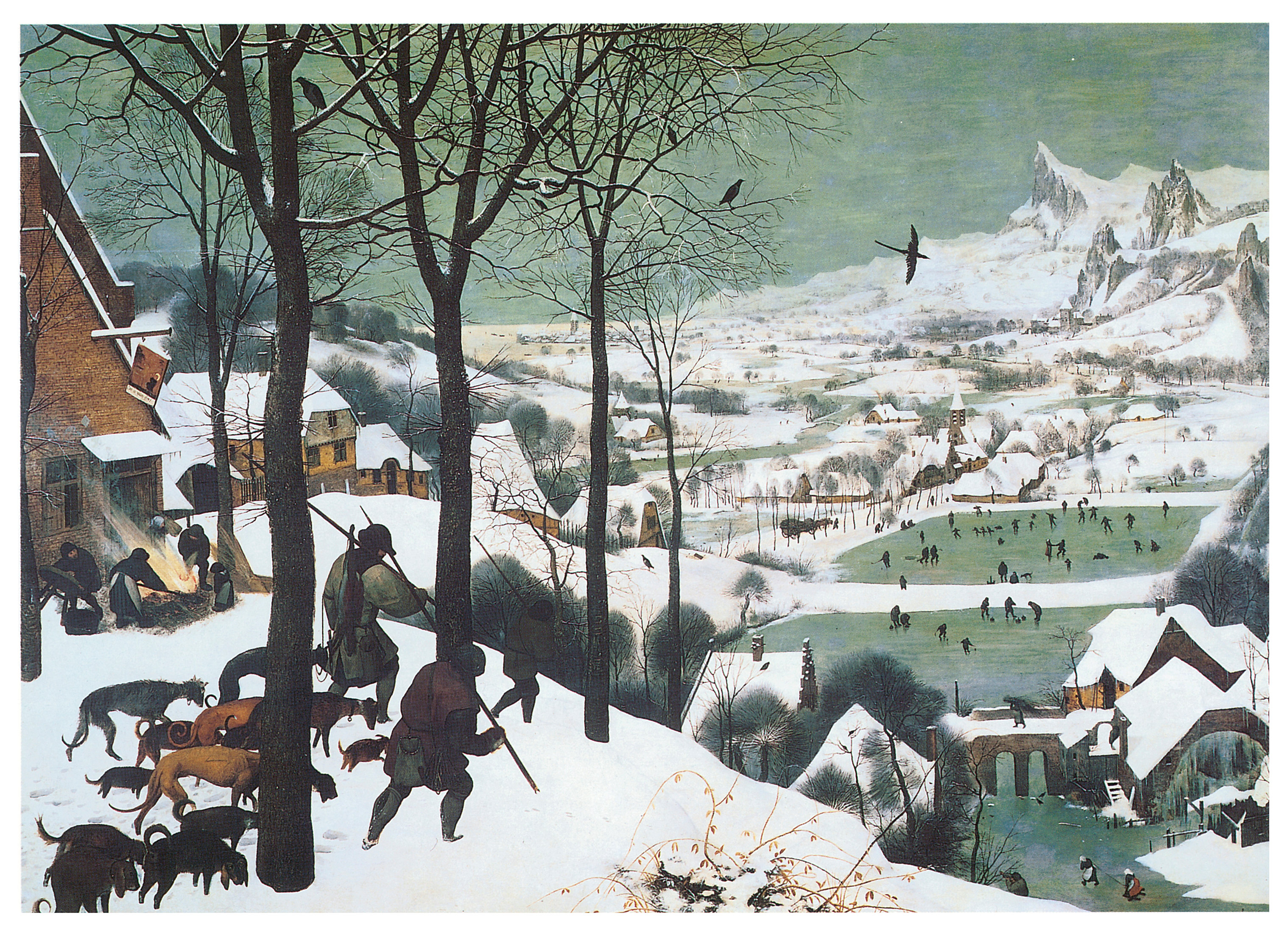 hunters in the snow essay apahkuntz hunters in the snow pieter bruegel the elder
