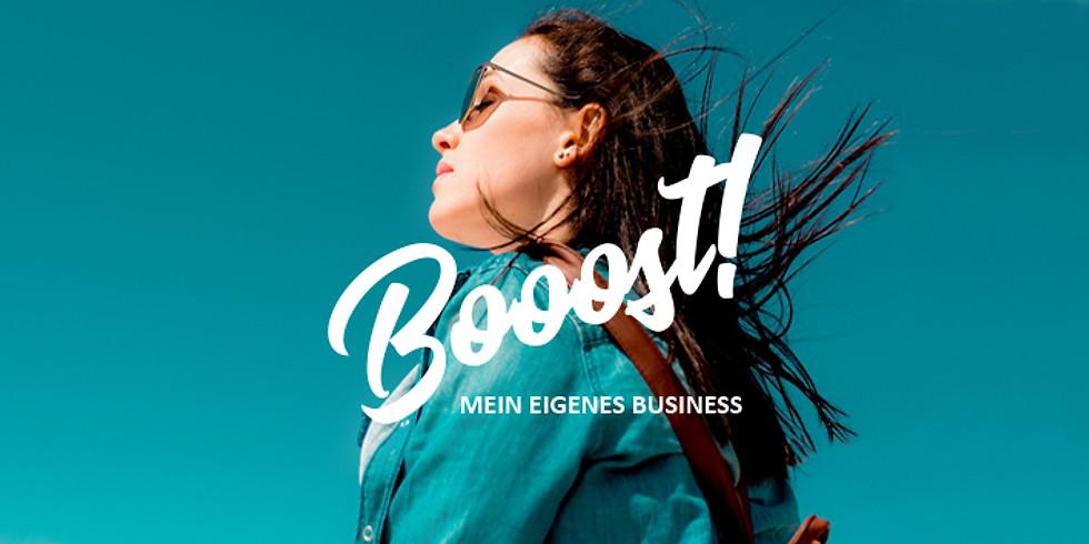 BOOOST! Mein eigenes Business.