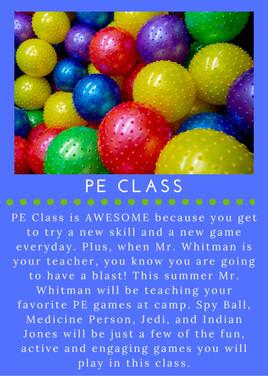 PE Class - NEW