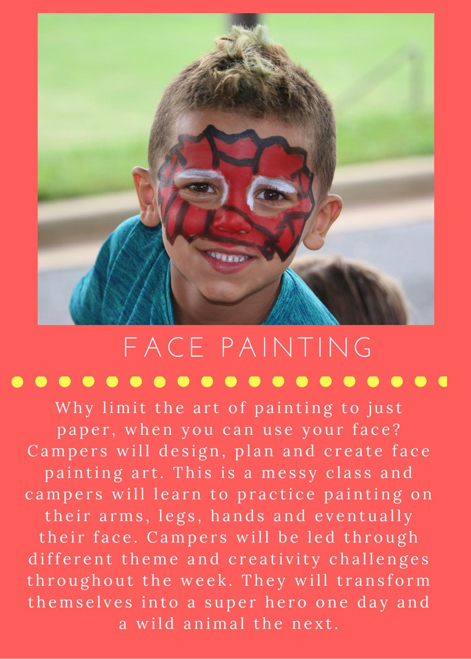 Face Painting - NEW